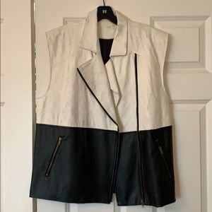 Lush Fake Leather Vest
